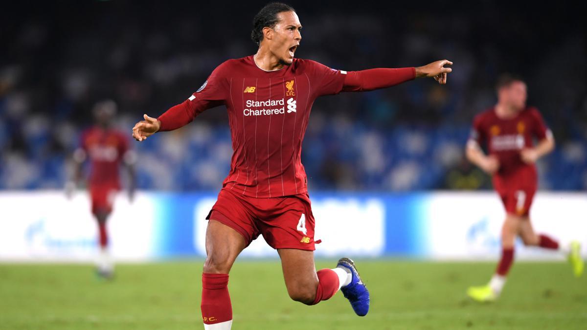 Liverpool centre-back Virgil van Dijk
