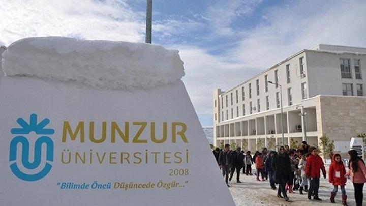 جامعة منذر | مفاضلة جامعة منذر (Munzur Üniversitesi)