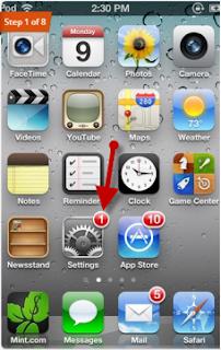 Update OTA iPhone