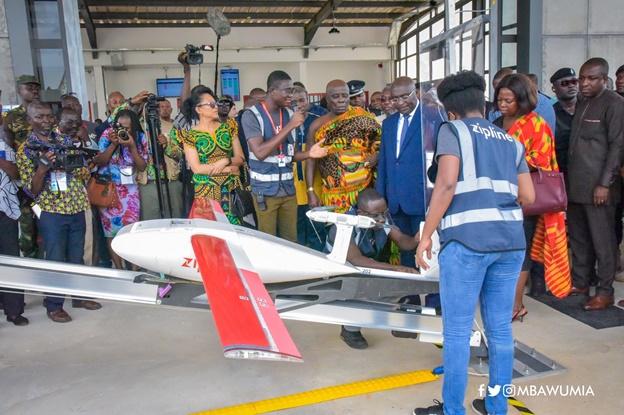 VP Bawumia Inspects Third Zipline Drone Distribution Centre