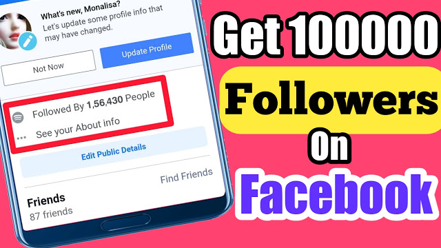 How to Get 100000 Followers On Facebook