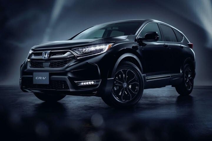 Honda CR-V ra mắt bản đặc biệt màu đen bóng