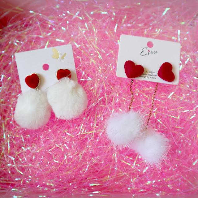 Boucles d'oreilles kawaii Japonaises