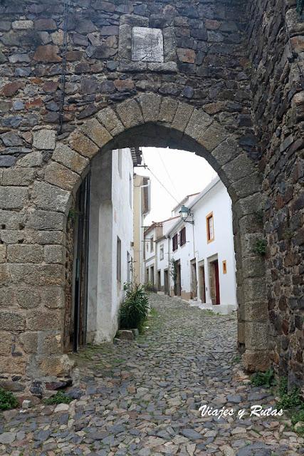 Arco a la Rua direita de Castelo de Vide