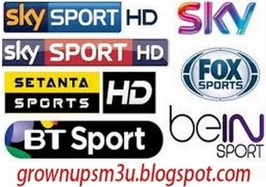 IPTV SPORTS FREE M3U CHANNELS PLAYLIST 15/06/2021