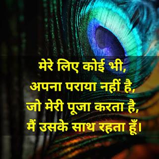 Krishna Quotes In Hindi For Life
