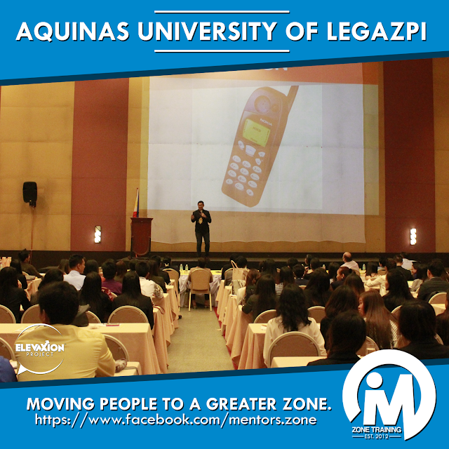 TALK: Aquinas University of Legazpi
