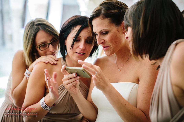 sposa e damigelle reportage matrimonio