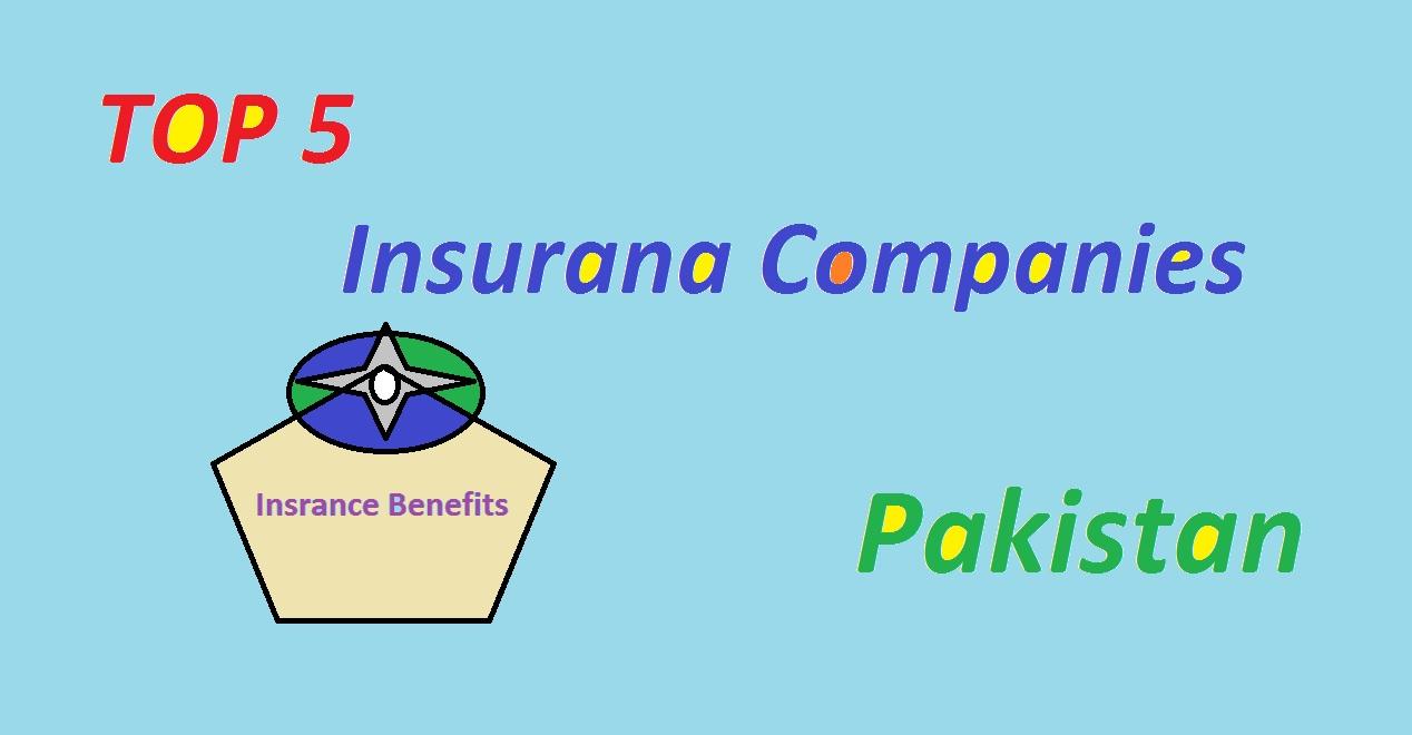 Top 5 Insurance Companies in Pakistan 2020
