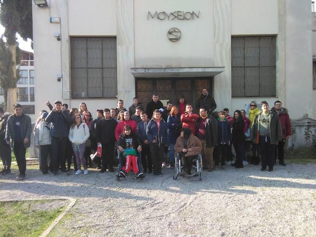 Βόλτα στο Μουσείο και κοπή βασιλόπιτας για το Ειδικό Επαγγελματικό Γυμνάσιο - Λύκειο Αργολίδας