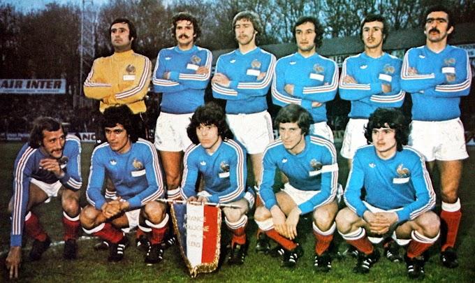 FRANCE-Pologne 1976.