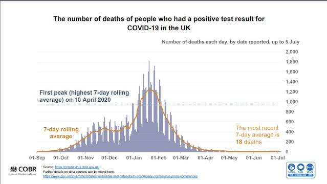 050721 UK Gov slides deaths in England hill followed by flat line
