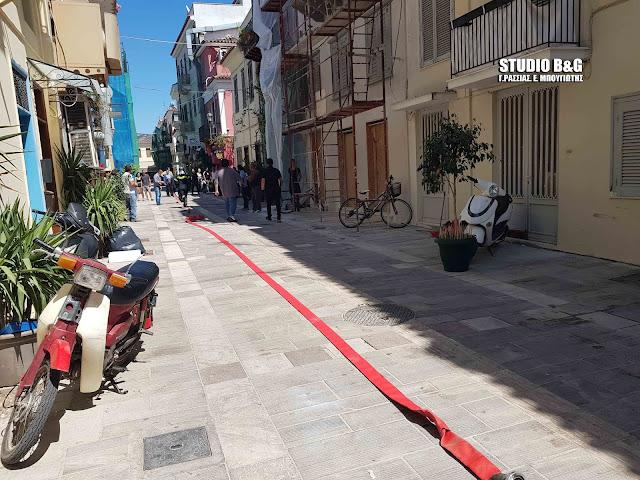 Άμεση αποκατάσταση του φωτισμού στην οδό Όθωνος στο Ναύπλιο