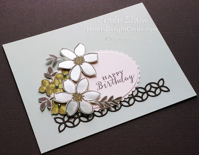 Heart's Delight Cards, Detailed With Love, Share What You Love Suite, Happy Birthday, Stampin' Up!