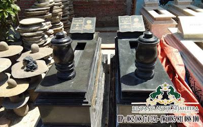 Pusara Makam Uje Granit, Model Makam Islam, Pusara Bahan Granit