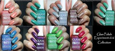 Glam Polish 626 collection