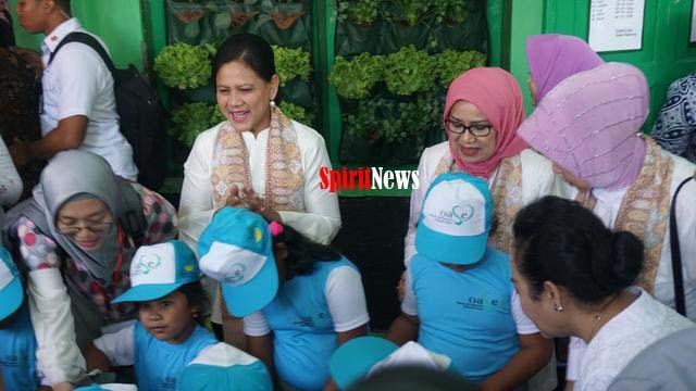 Iriana Jokowi, Ibu-ibu Perlu Deteksi Dini Kanker Rahim dan Rutin Tes IVA