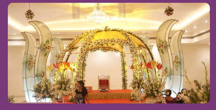 A WEDDING PLANNER: Indian Wedding Hall, Shaadi Mandap