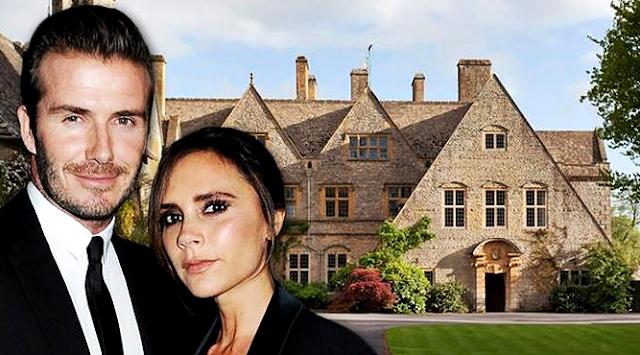 """Beckingham Palace"" - Rumah Baru David Beckham Seharga 569 Miliar"