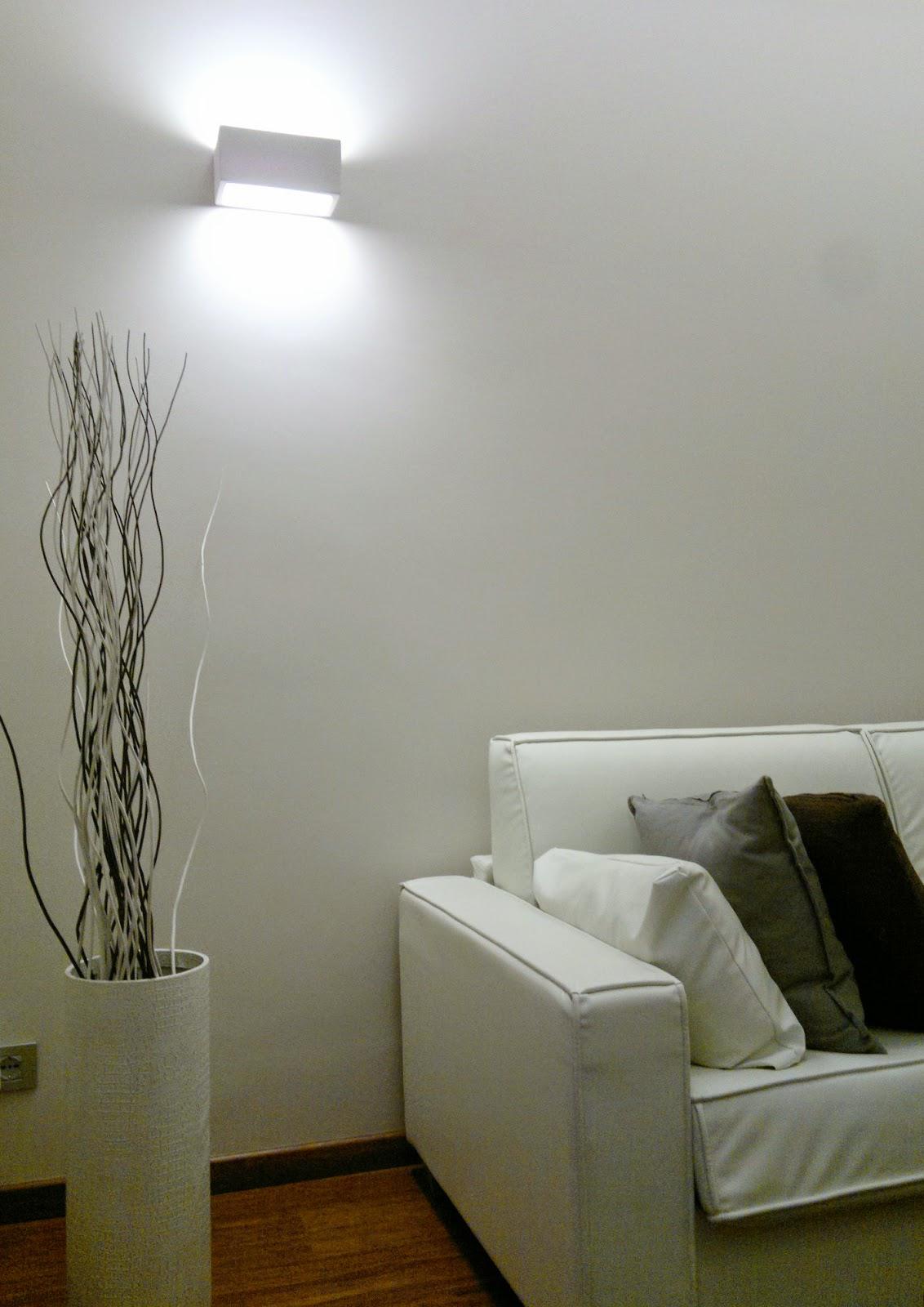 Illuminazione led casa settembre 2014 for Luce faretti led