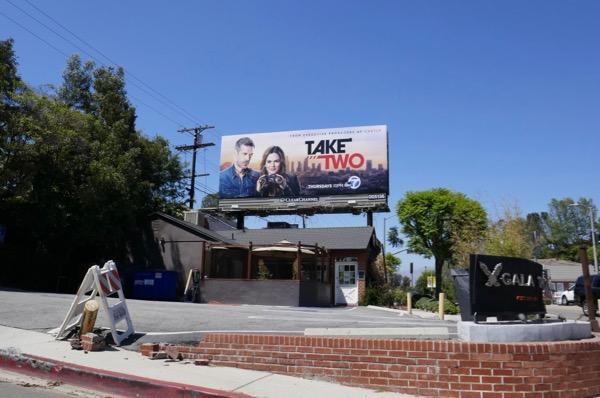 Take Two TV series billboard