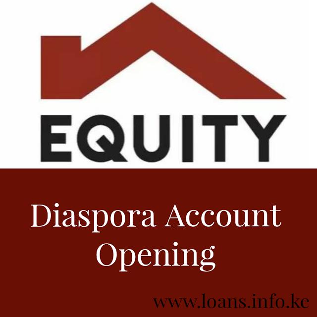 Equity Bank Diaspora Accounts