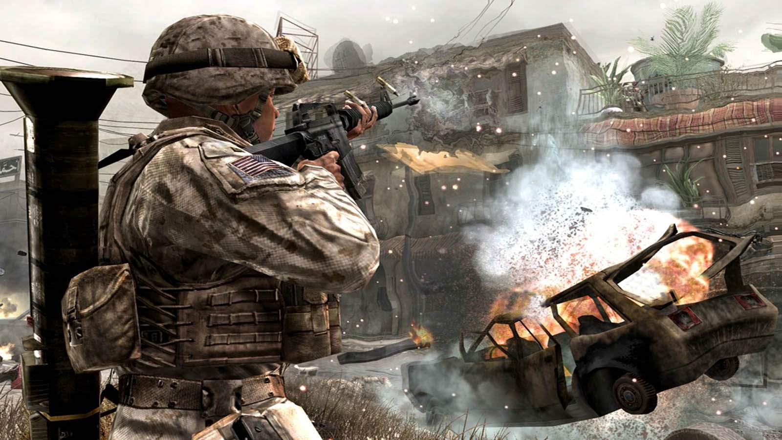 تحميل لعبة Call Of Duty 4 Modern Warfare 1 مضغوطة كاملة بروابط مباشرة مجانا