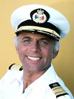 Gavin McLeod as Captain Stubing from The Love Boat