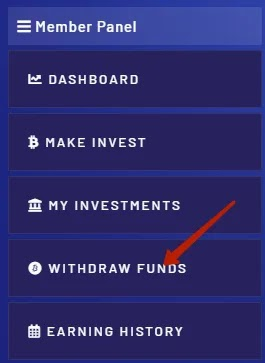 Вывод средств в SaveBit