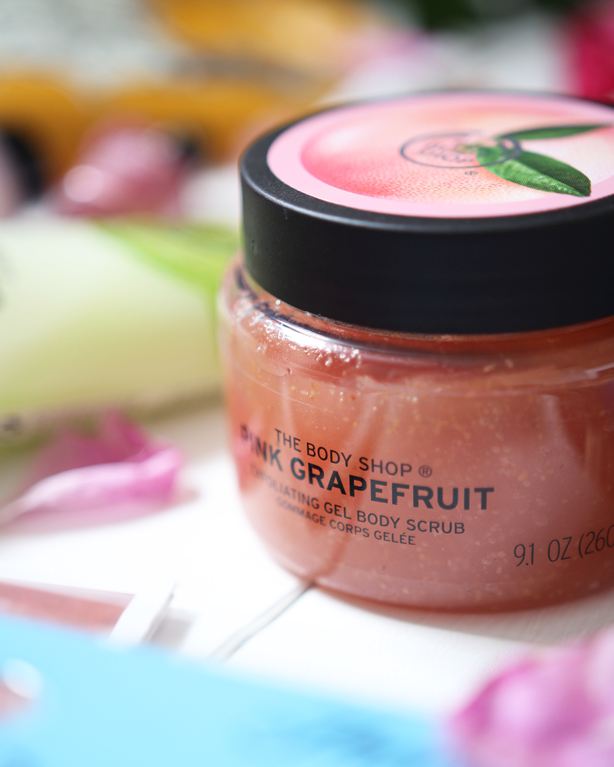 the body shop grapefruit gel scrub