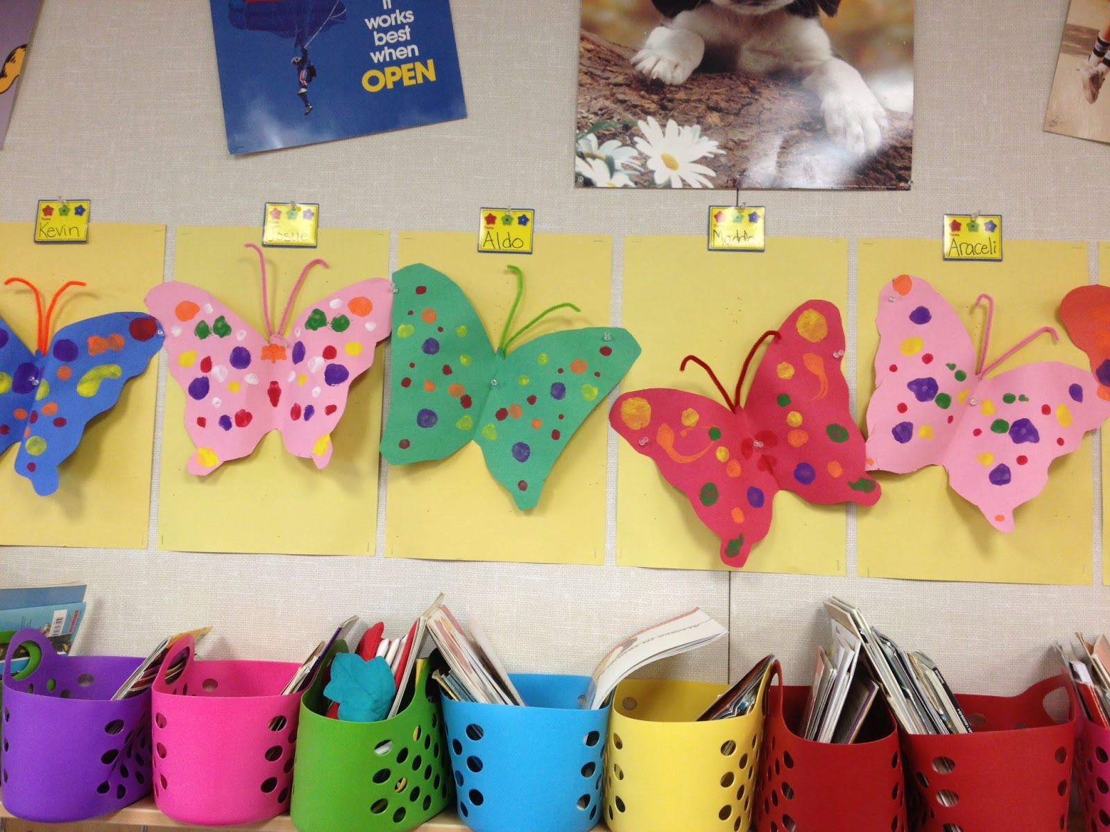 Easy Butterfly Art for Parent Conferences - Lisa Goodell
