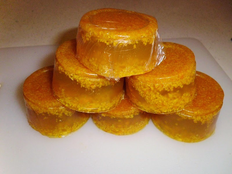 Naturally Scented Orange Soap Pyramid