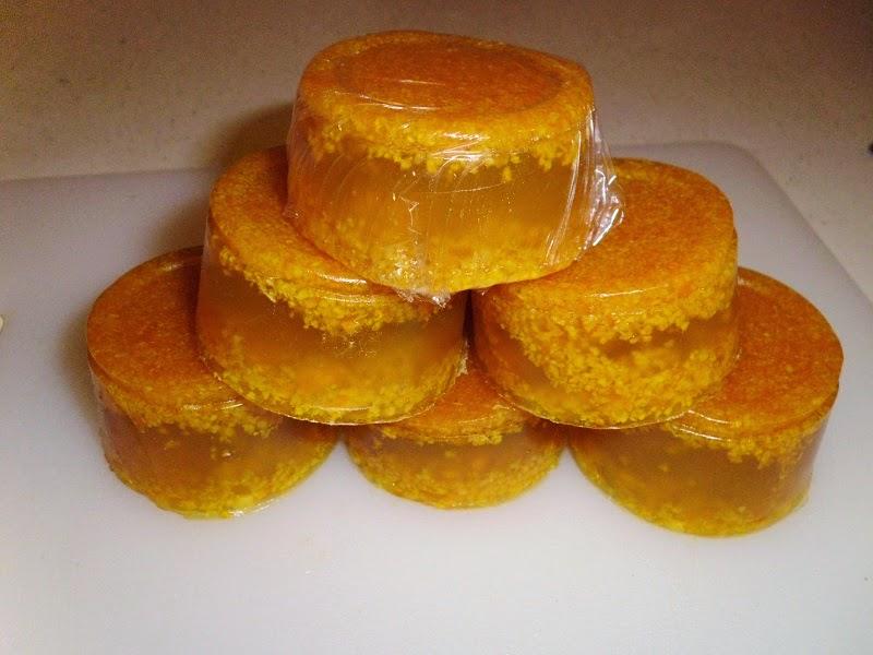 Naturally Scented Orange Soap Pyramid