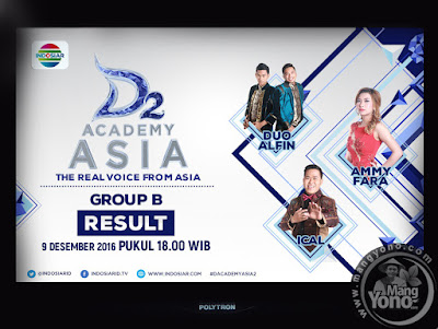 D'Academy Asia 2 Babak 9 Besar Grup B
