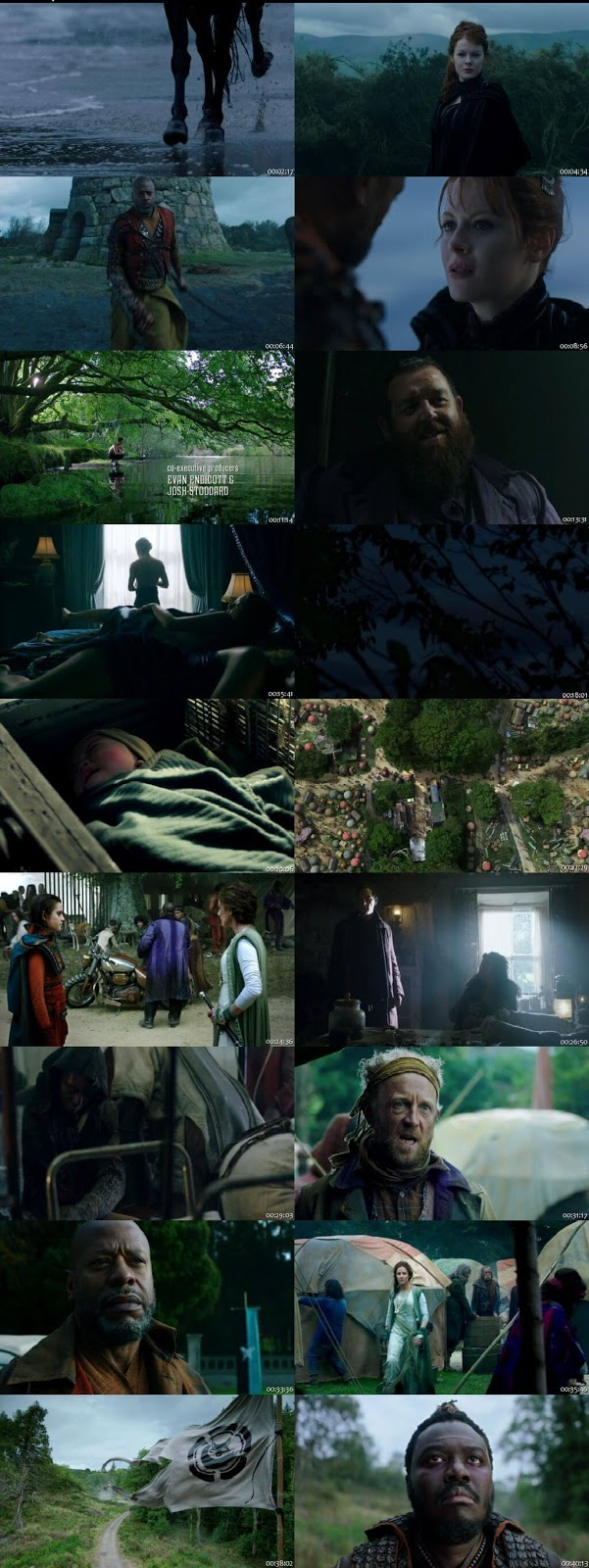 Screenshots Of Hindi Dubbed Show Into the Badlands 2019 Season 03 Complete All Episodes 300MB 720P HD