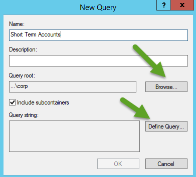Majorbacon's IT Blog: Using LDAP Saved Queries for Active