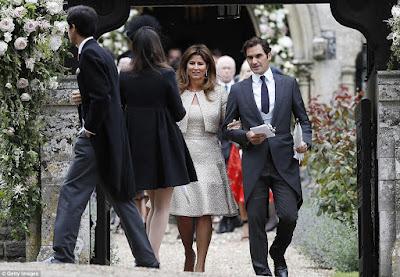 bodas, Bodas 2017, fotografía de bodas, Mirka Federer, morning coat, Pippa Middleton, Roger Federer, trajes de novio, wedding,