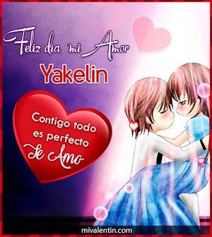 Feliz San Valentín Yakelin