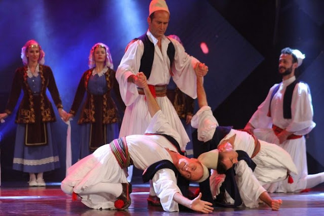 Albanian folklore presented in Brussels