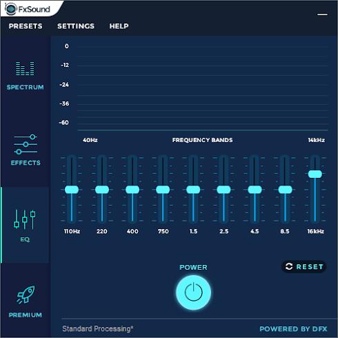FxSound Enhancer 13.008 - Cải tiến Chất lượng Âm thanh