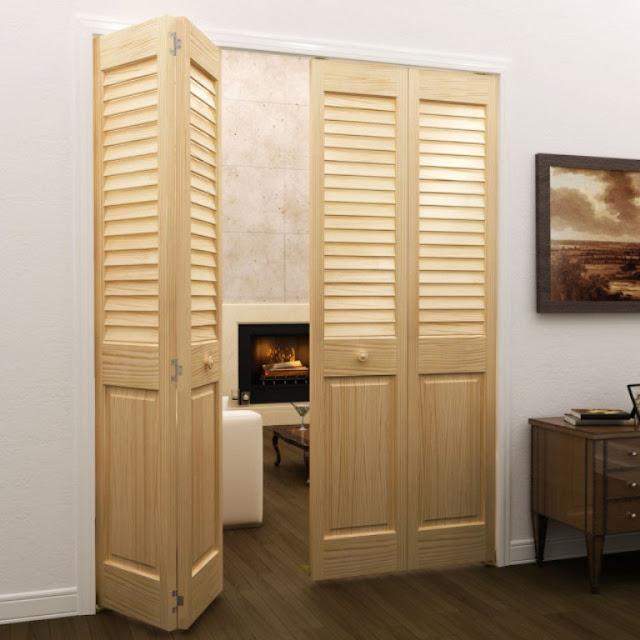 model pintu louvre