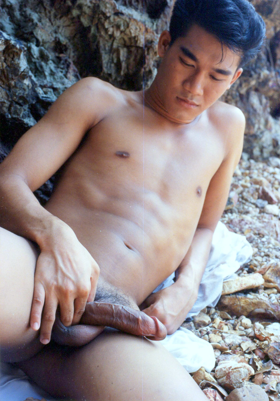 Sportsman Bulge Naked  Asian Cock-1662