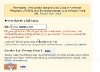 Cara Mengganti Domain Blog