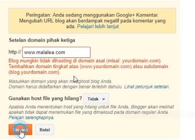 domain blogger
