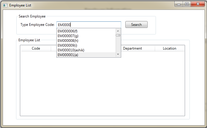 Powered by Passion: Google style Searching in WPF
