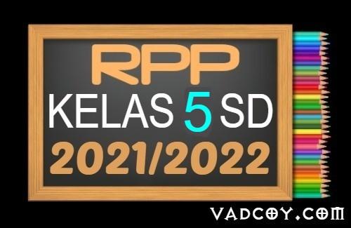 Kumpulan RPP PAI Kelas 5 SD Semester 1 Tahun Ajaran 2021/2022