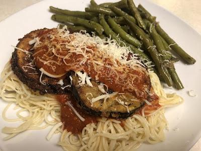 eggplant parmesan, food, recipes, BeautiFULL Food