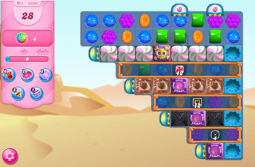 Candy Crush Saga level 8220