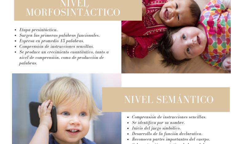 HITOS DEL DESARROLLO DEL LENGUAJE DE 1-3 AÑOS