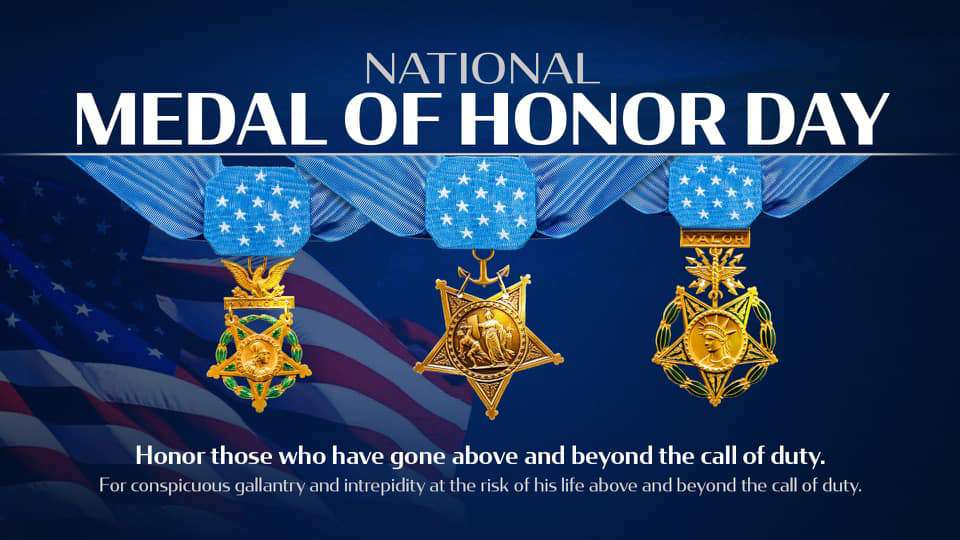 National Medal of Honor Day Wishes Unique Image